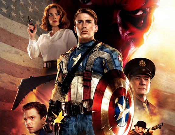 Captain America The First Avenger Review DT2ComicsChat, David Taylor II