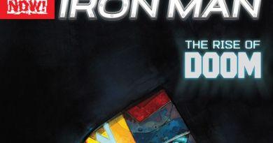 Infamous Iron Man Review, Dr. Doom, Tony Stark, Ben Grimm, Maria Hill, Diablo, DT2ComicsChat, David Taylor II