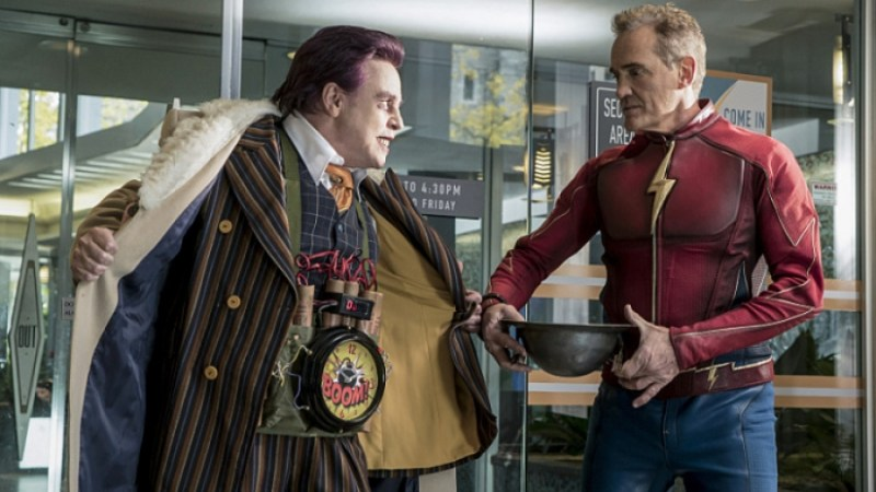 "The Flash Season 3 Episode 9 ""The Present"" review DT2ComicsChat David Taylor II"