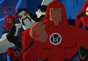 Rage of the Red Lanterns, Review, Justice League Action, Batman, Superman, Wonder Woman, Cyborg, David Taylor II, DT2ComicsChat, superhero animation, cartoons