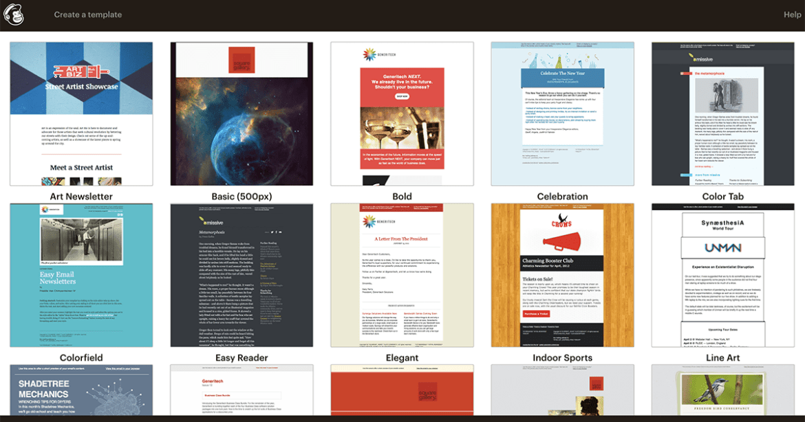 mailchimp-template-gallery