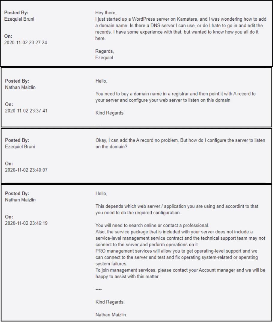 kamatera-ticket-support-interaction