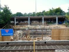 Hier soll wohl bald das Fundament betoniert werden.