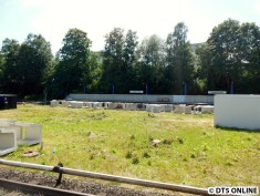 Der Bahnsteig Richtung Billstedt