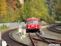 AKN-Schienenbus VT3.09/3.08 in Quickborn