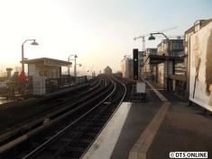 Das Hafenviadukt mit etwas Nebel im Hintergrund...