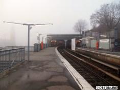 Landungsbrücken bei Nebel, 25.11.2014