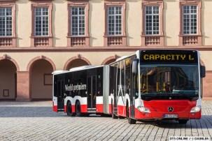 Der neue Bus ist ziemlich wendig.