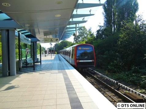 DT5 in Trabrennbahn