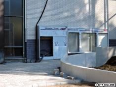 Fahrausweisautomaten sowie die Elemente der Fahrgastinformation fehlen noch