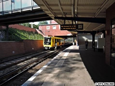 Berlins neuste U-Bahn-Generation IK. Sie war der Besuchsgrund im September, musste tags zuvor aber leider ausgesetzt werden und absolvierte Testfahrten.