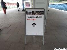 Auch am Freitag wurde der neue Aufzug in Ochsenzoll eröffnet.