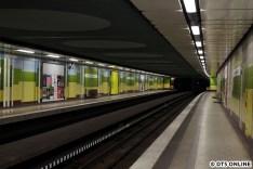 Auch die Haltestelle Joachim-Mähl-Straße ist stützenfrei