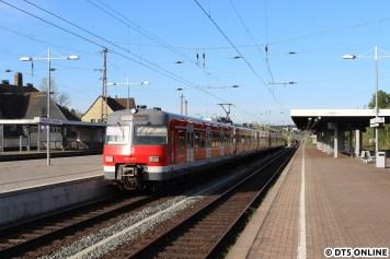 """Noch einmal 420, """"der"""" S-Bahn."""