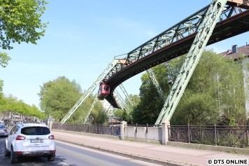 nahe der Haltestelle Werther Brücke