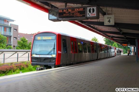 348 in Barmbek (U3 Schlump)