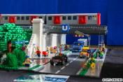 Quasi selbes Bild, nur etwas weiter weg - das Diorama endet am rechten Ende kurz vor dem Bahnhof Langenhorn Nord.