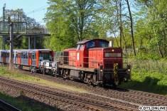 Heute mal keine Gravita, die den Zug nach Ohlsdorf bringt.