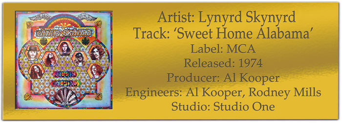 Though the song only reached no.8 on the u.s. Lynyrd Skynyrd Sweet Home Alabama Classic Tracks