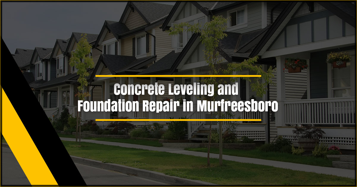 a 1 concrete leveling and foundation repair