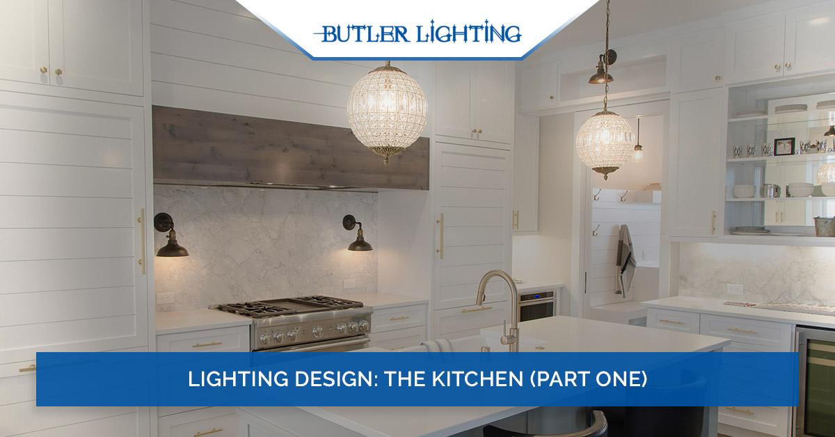 lighting design the kitchen part one
