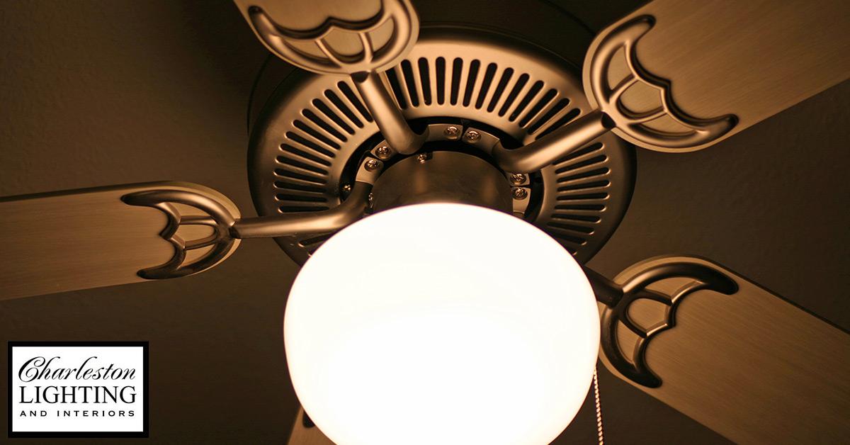 ceiling fan need a light