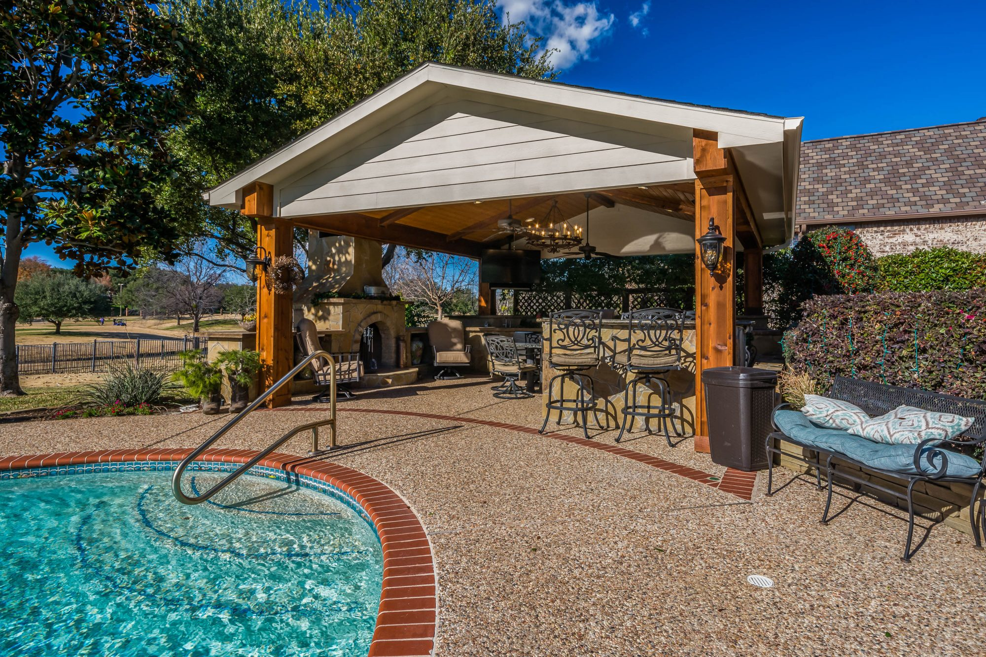 outdoor living space tired of a