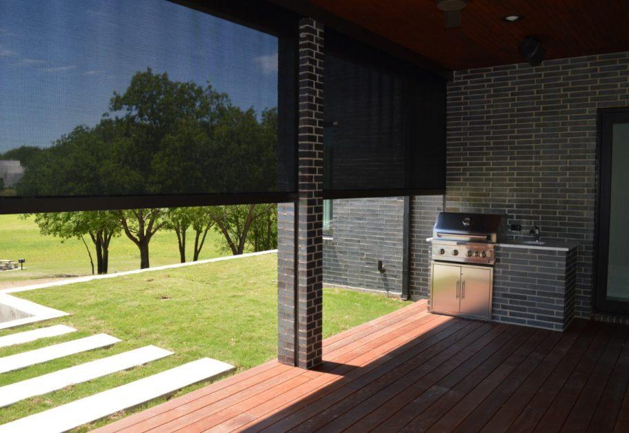 consider adding roller patio screens