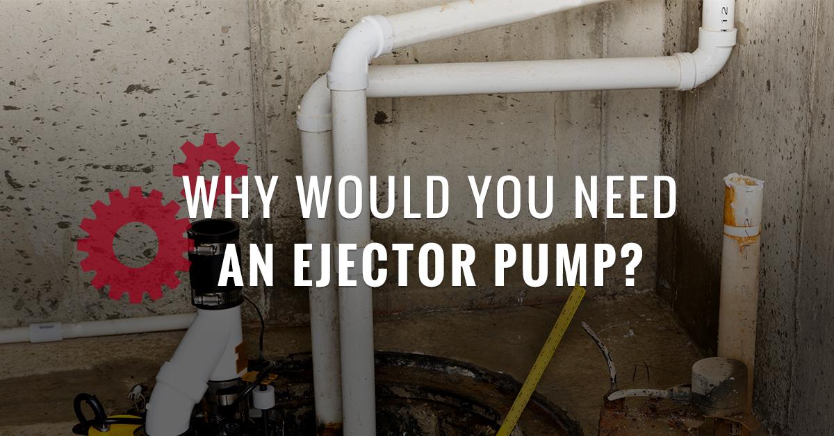 an ejector pump