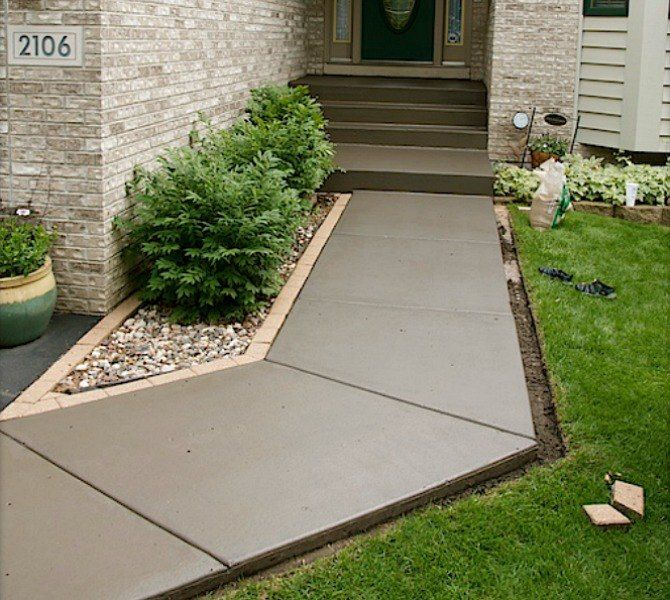 Concrete Landscaping Beautiful Stamped Concrete In