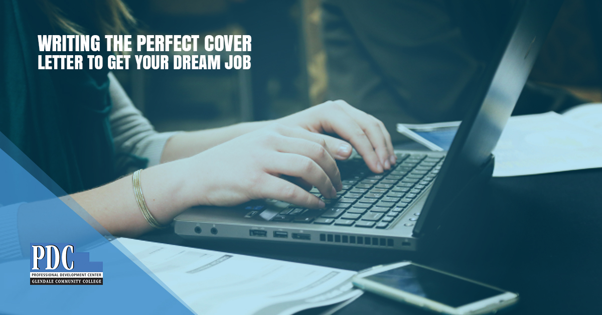 Professional Development Montrose  Writing A Great Cover Letter When you decide that you want to leave your current job and begin searching  for something new  it can be a quite intimidating