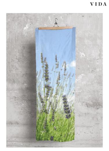 Lavender sky scarf