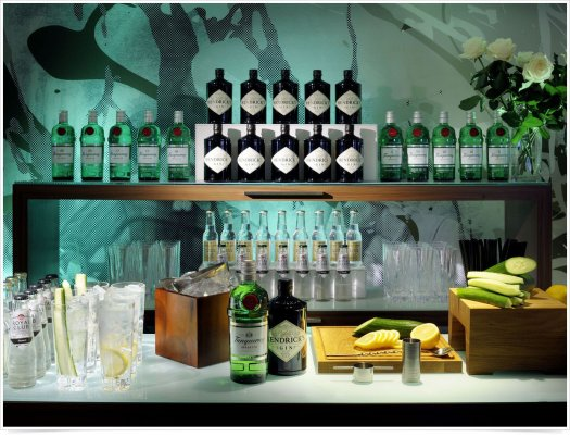 Barra Premium de Hendricks & Tanqueray