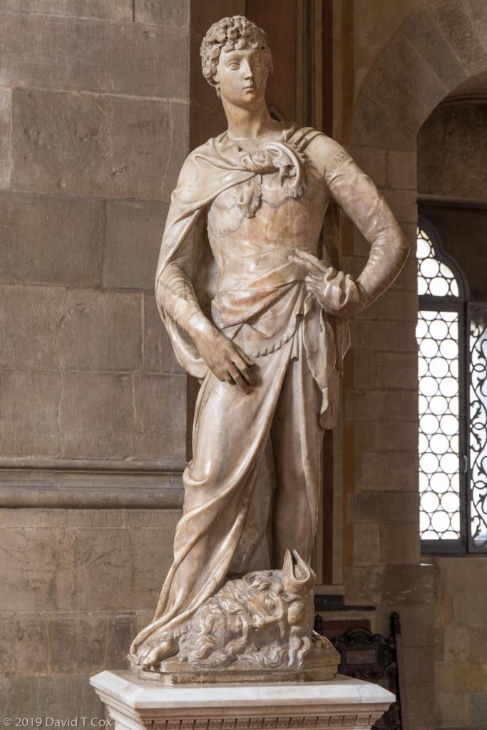 David Marble 1408 By Donatello Bargello Museum