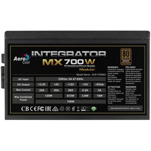 Aerocool 700W Modular Power Supply