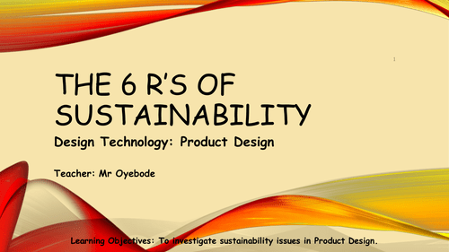 6 R's of Sustainability