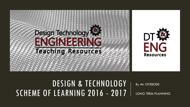 Design ^0 Technology Scheme of Learning 2016 -2017-page-001