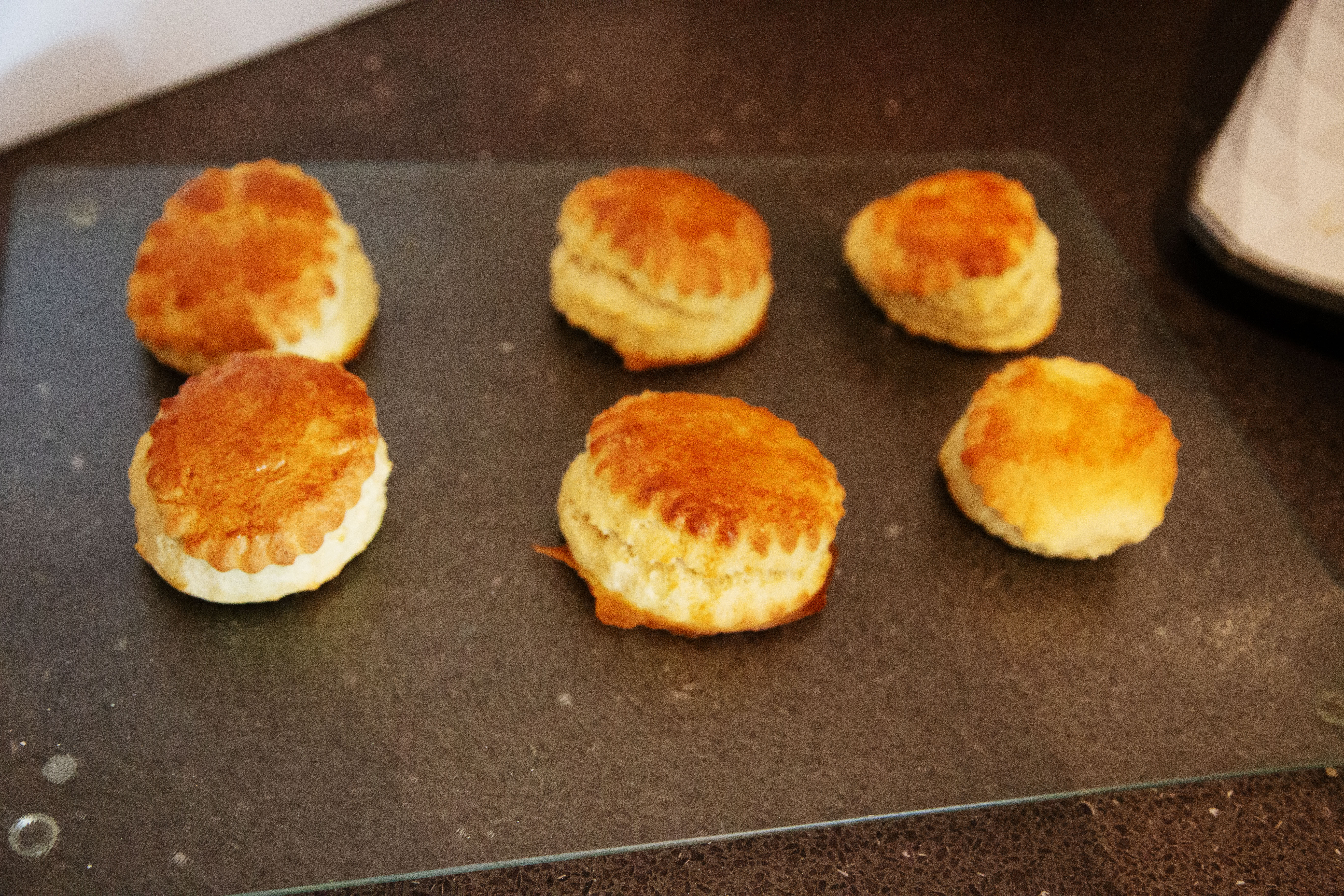 cooked scones