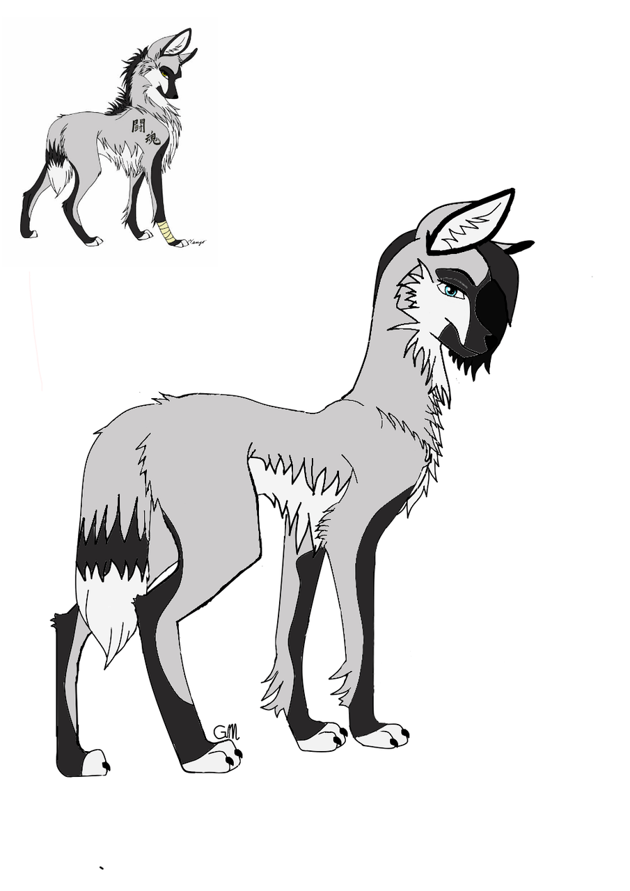 Anime Wolf My First Drawing Grace The Smol Illustrations Art Street
