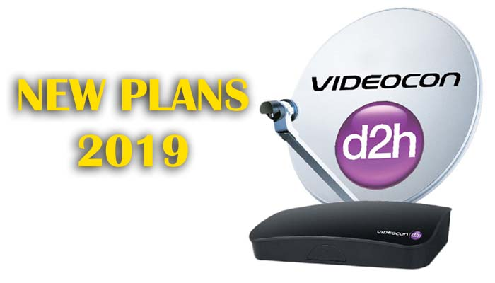 Videocon D2H Recharge Plans List 2019