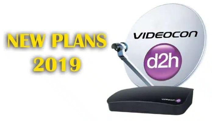 Videocon D2H Recharge Plans List 2019