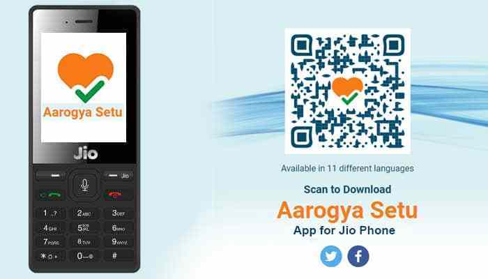 Aarogya Setu App Download For Jio Phone in Hindi