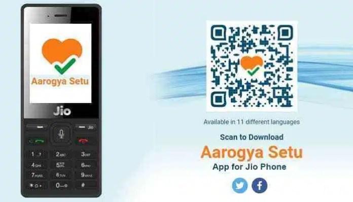 Aarogya Setu App Download For Jio Phone in Hindi
