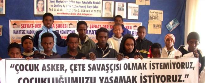 Welttag gegen Einsatz von Kindersoldaten