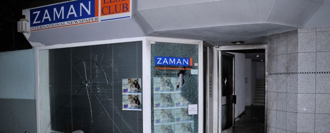 PKK-Anschläge auf Zaman-Büros in Europa