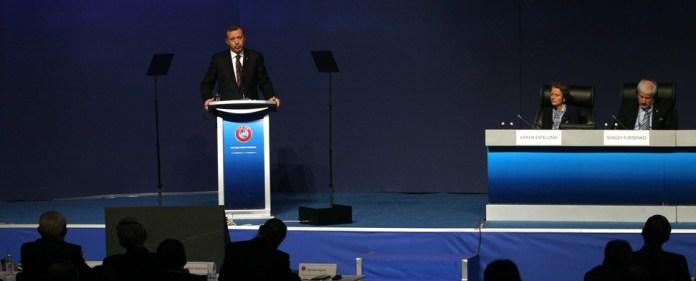 Erdogan wirbt für EM 2020 in der Türkei