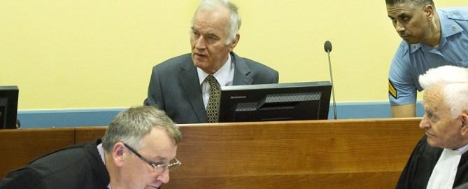 Prozess gegen Serben-General Mladic vor UN-Tribunal eröffnet