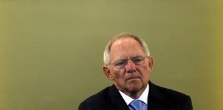 Schäuble will politischer Einheit Europas ein Gesicht geben