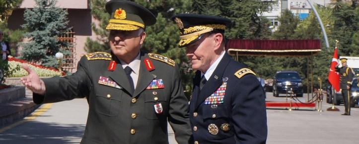 US-Generalstabschef in Ankara – Gespräche über Syrien und Kampf gegen PKK