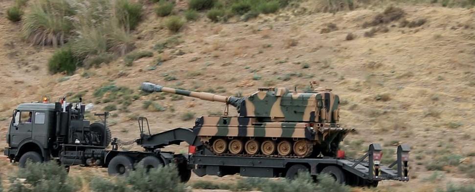 Grenzscharmützel zwischen Syrien und der Türkei halten an